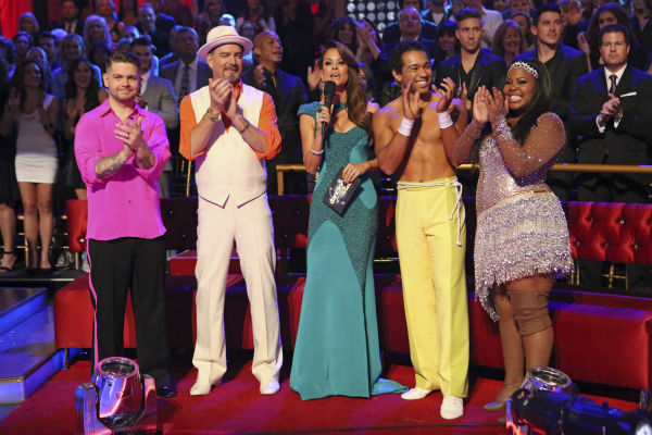 "<div class=""meta image-caption""><div class=""origin-logo origin-image ""><span></span></div><span class=""caption-text"">Contestants Jack Osbourne, Bill Engvall, Corbin Bleu and Amber Riley appear on 'Dancing With The Stars' week 11, the pre-finale of season 17, on Nov. 25, 2013. (ABC Photo / Adam Taylor)</span></div>"