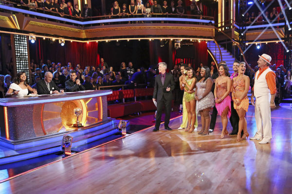"<div class=""meta ""><span class=""caption-text "">Contestants Jack Osbourne, Bill Engvall, Corbin Bleu and Amber Riley appear on 'Dancing With The Stars' week 11, the pre-finale of season 17, on Nov. 25, 2013. (ABC Photo / Adam Taylor)</span></div>"