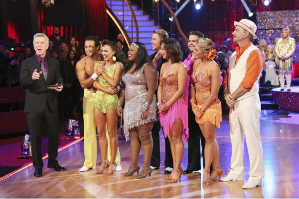 Contestants Jack Osbourne, Bill Engvall, Corbin Bleu and Amber Riley appear on &#39;Dancing With The Stars&#39; week 11, the pre-finale of season 17, on Nov. 25, 2013. <span class=meta>(ABC Photo &#47; Adam Taylor)</span>