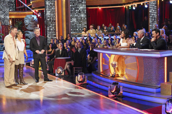 Bill Engvall and Emma Slater danced their Freestyle on week 11 of &#39;Dancing With The Stars&#39; on Nov. 25, 2013. They received 25 out of 30 points from the judges. The two scored a total of 51 out of 65 points for the night. <span class=meta>(ABC Photo &#47; Adam Taylor)</span>