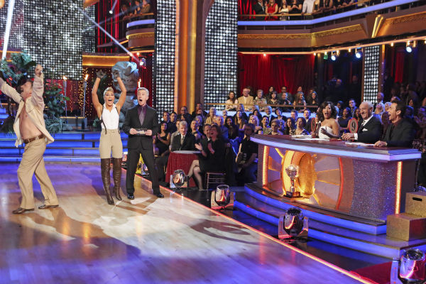 "<div class=""meta ""><span class=""caption-text "">Bill Engvall and Emma Slater danced their Freestyle on week 11 of 'Dancing With The Stars' on Nov. 25, 2013. They received 25 out of 30 points from the judges. The two scored a total of 51 out of 65 points for the night. (ABC Photo / Adam Taylor)</span></div>"