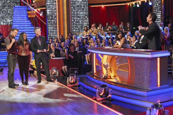Amber Riley and Derek Hough dance their Freestyle on week 11 of &#39;Dancing With The Stars&#39; on Nov. 25, 2013. They received 30 out of 30 points from the judges. The two scored a total of 64 out of 65 points for the night. <span class=meta>(ABC Photo &#47; Adam Taylor)</span>