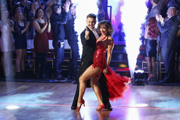 "<div class=""meta image-caption""><div class=""origin-logo origin-image ""><span></span></div><span class=""caption-text"">Jack Osbourne and Cheryl Burke dance their Freestyle on week 11 of 'Dancing With The Stars' on Nov. 25, 2013. They received 30 out of 30 points from the judges. The two scored a total of 57 out of 65 points for the night. (ABC Photo / Adam Taylor)</span></div>"