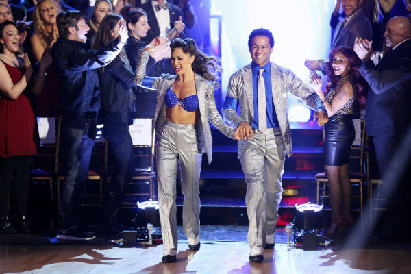 "<div class=""meta ""><span class=""caption-text "">Corbin Bleu and Karina Smirnoff dance their Freestyle on week 11 of 'Dancing With The Stars' on Nov. 25, 2013. They received 30 out of 30 points from the judges. The two scored a total of 62 out of 65 points for the night. (ABC Photo / Adam Taylor)</span></div>"