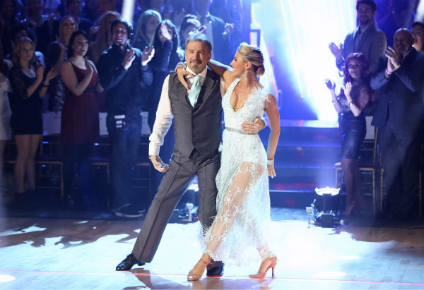 "<div class=""meta image-caption""><div class=""origin-logo origin-image ""><span></span></div><span class=""caption-text"">Bill Engvall and Emma Slater danced their 'Judges' Pick' Viennese Waltz on week 11 of 'Dancing With The Stars' on Nov. 25, 2013. They received 24 out of 30 points from the judges. The two scored a total of 51 out of 65 points for the night. (ABC Photo / Adam Taylor)</span></div>"