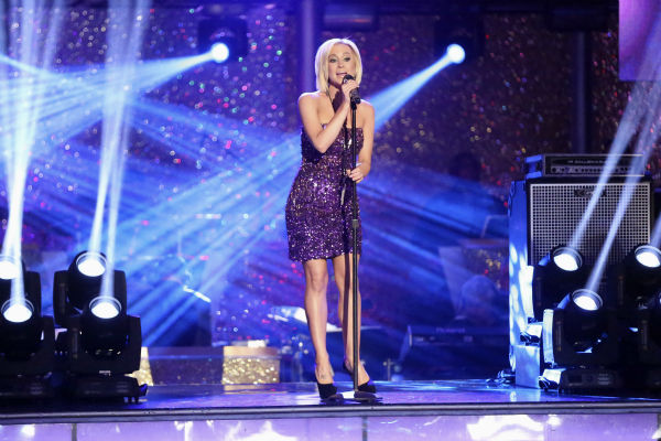 Kellie Pickler performs her hit song &#39;Little Bit Gypsy&#39; on &#39;Dancing With The Stars&#39;week 11, the pre-finale of season 17, on Nov. 25, 2013. Pickler won season 16. <span class=meta>(ABC Photo &#47; Adam Taylor)</span>
