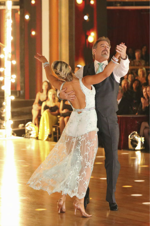 "<div class=""meta ""><span class=""caption-text "">Bill Engvall and Emma Slater dance their 'Judges' Pick' Viennese Waltz on week 11 of 'Dancing With The Stars' on Nov. 25, 2013. They received 24 out of 30 points from the judges. The two scored a total of 51 out of 65 points for the night. (ABC Photo / Adam Taylor)</span></div>"