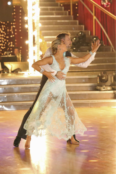 "<div class=""meta image-caption""><div class=""origin-logo origin-image ""><span></span></div><span class=""caption-text"">Bill Engvall and Emma Slater dance their 'Judges' Pick' Viennese Waltz on week 11 of 'Dancing With The Stars' on Nov. 25, 2013. They received 24 out of 30 points from the judges. The two scored a total of 51 out of 65 points for the night. (ABC Photo / Adam Taylor)</span></div>"