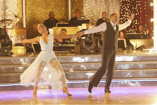 Bill Engvall and Emma Slater dance their &#39;Judges&#39; Pick&#39; Viennese Waltz on week 11 of &#39;Dancing With The Stars&#39; on Nov. 25, 2013. They received 24 out of 30 points from the judges. The two scored a total of 51 out of 65 points for the night. <span class=meta>(ABC Photo &#47; Adam Taylor)</span>