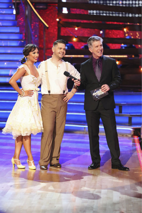 "<div class=""meta ""><span class=""caption-text "">Corbin Bleu and Karina Smirnoff danced their 'Judges' Pick' Quickstep on week 11 of 'Dancing With The Stars' on Nov. 25, 2013. They received 27 out of 30 points from the judges. The two scored a total of 62 out of 65 points for the night. (ABC Photo / Adam Taylor)</span></div>"