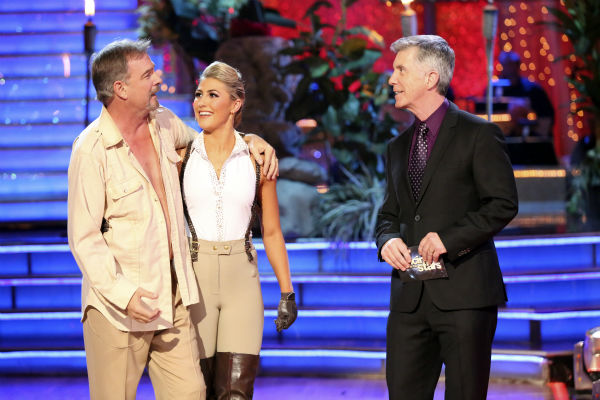 Bill Engvall and Emma Slater danced their Freestyle on week 11 of &#39;Dancing With The Stars&#39; on Nov. 25, 2013. They received 25 out of 30 points from the judges. The two scored a total of 51 out of 65 points for the night. <span class=meta>(ABC Photo&#47; Adam Taylor)</span>