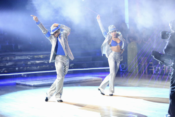 Corbin Bleu and Karina Smirnoff dance their Freestyle on week 11 of &#39;Dancing With The Stars&#39; on Nov. 25, 2013. They received 30 out of 30 points from the judges. The two scored a total of 62 out of 65 points for the night. <span class=meta>(ABC Photo &#47; Adam Taylor)</span>