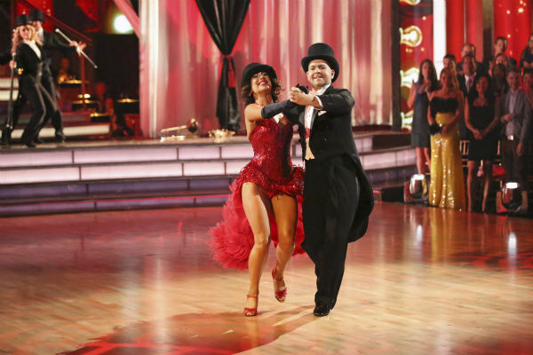 "<div class=""meta ""><span class=""caption-text "">Jack Osbourne and Cheryl Burke dance their Freestyle on week 11 of 'Dancing With The Stars' on Nov. 25, 2013. They received 30 out of 30 points from the judges. The two scored a total of 57 out of 65 points for the night. (ABC Photo / Adam Taylor)</span></div>"