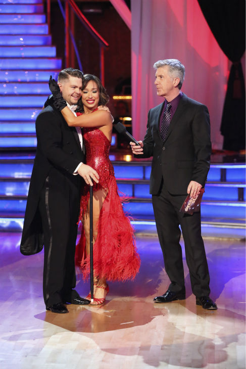 "<div class=""meta ""><span class=""caption-text "">Jack Osbourne and Cheryl Burke danced their Freestyle on week 11 of 'Dancing With The Stars' on Nov. 25, 2013. They received 30 out of 30 points from the judges. The two scored a total of 57 out of 65 points for the night. (ABC Photo / Adam Taylor)</span></div>"