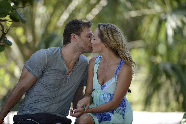 &#39;The Bachelor&#39; season 18 star Juan Pablo Galavis kisses Clare on an episode of the ABC dating show that aired on Feb. 17, 2014. <span class=meta>(ABC Photo &#47; Michael Fullana)</span>