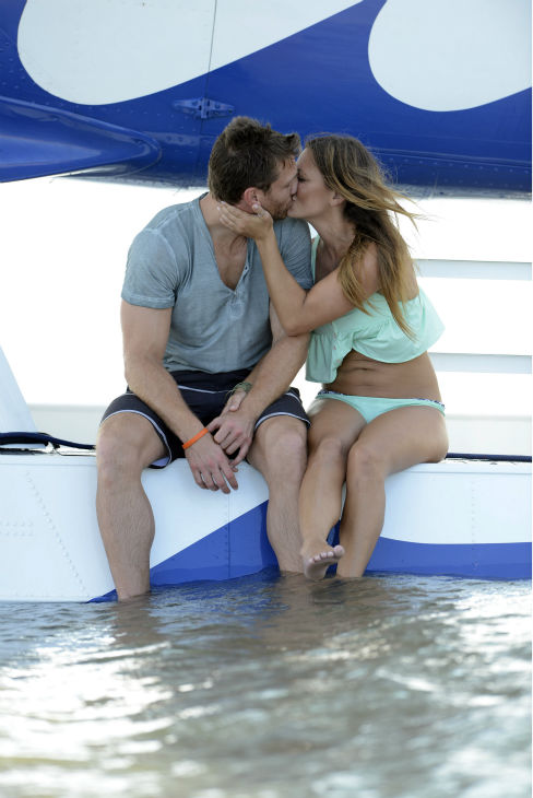 &#39;The Bachelor&#39; season 18 star Juan Pablo Galavis kisses Renee on an episode of the ABC dating show that aired on Feb. 17, 2014. <span class=meta>(ABC Photo &#47; Michael Fullana)</span>