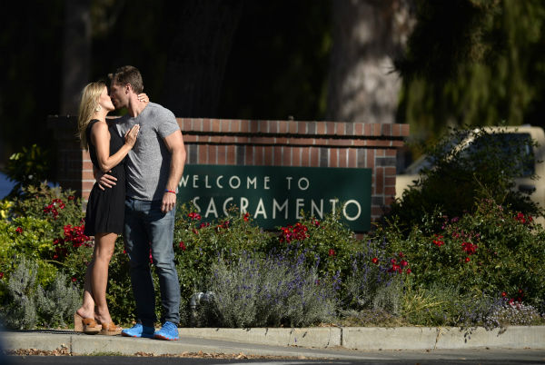 &#39;The Bachelor&#39; season 18 star Juan Pablo Galavis kisses Clare on an episode of the ABC dating show that aired on Feb. 24, 2014. <span class=meta>(ABC Photo &#47; Jose Villegas)</span>