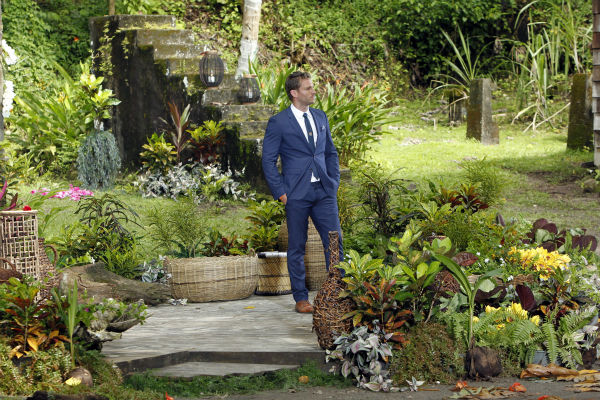 A scene from the season 18 finale of ABC&#39;s &#39;The Bachelor,&#39; which aired on March 10, 2014. Juan Pablo Galavis waits on a podium for Clare, one of two remaining finalists, who earlier said she wants to have babies with him and is definitely expecting a proposal. <span class=meta>(ABC Photo &#47; Rick Rowell)</span>