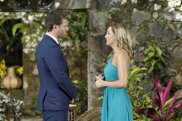 "<div class=""meta image-caption""><div class=""origin-logo origin-image ""><span></span></div><span class=""caption-text"">Clare, one of two remaining finalists, tells star Juan Pablo Galavis off after he rejected her, in a scene from the season 18 finale of ABC's 'The Bachelor,' which aired on March 10, 2014. After seemingly forgiving him for an 'offensive' off-camera comment, she finally stands up for herself. (ABC Photo / Rick Rowell)</span></div>"
