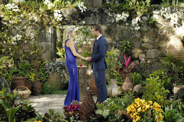Nikki, the last remaining finalist, looks into the eyes of star Juan Pablo Galavis in St. Lucia in a scene from the season 18 finale of ABC&#39;s &#39;The Bachelor,&#39; which aired on March 10, 2014. She expected a proposal. <span class=meta>(ABC Photo &#47; Rick Rowell)</span>