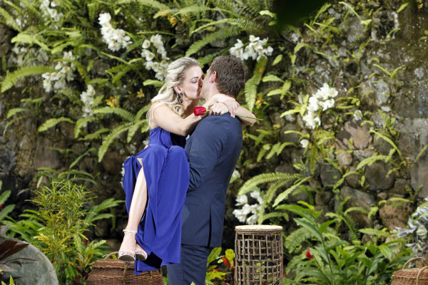 Star Juan Pablo Galavis kisses Nikki, the winner and his non-fiancee, in St. Lucia in a scene from the season 18 finale of ABC&#39;s &#39;The Bachelor,&#39; which aired on March 10, 2014. <span class=meta>(ABC Photo &#47; Rick Rowell)</span>
