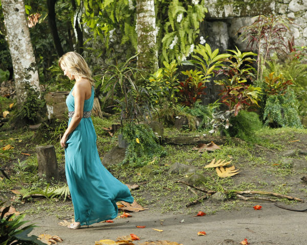 Clare exits after Juan Pablo Galavis rejected her, in a scene from the season 18 finale of ABC&#39;s &#39;The Bachelor,&#39; which aired on March 10, 2014. <span class=meta>(ABC Photo &#47; Rick Rowell)</span>