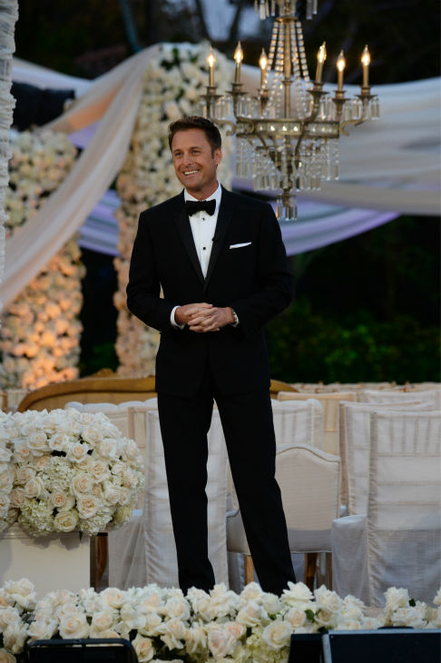 &#39;The Bachelor&#39; season 17 star Sean Lowe waits for his bride Catherine Giudici at their wedding at the Four Seasons Biltmore hotel in Santa Barbara, California. The event aired live on TV as part of ABC&#39;s &#39;The Bachelor: Sean and Catherine&#39;s Wedding&#39; special on Jan. 26, 2014. <span class=meta>(ABC Photo &#47; Todd Wawrychuk)</span>