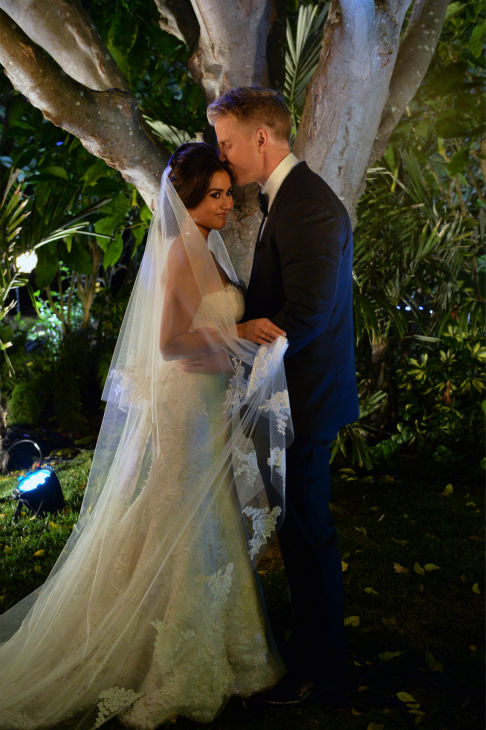 "<div class=""meta image-caption""><div class=""origin-logo origin-image ""><span></span></div><span class=""caption-text"">THE BACHELOR: SEAN AND CATHERINE'S WEDDING - Sean Lowe and Catherine Giudici, the latest to join other ""Bachelor"" couples who have walked down the aisle, shared a dramatic new chapter of their love story with millions of viewers and Bachelor Nation when ABC televised their much anticipated wedding ? live, on ""The Bachelor: Sean and Catherine's Wedding,"" SUNDAY, JANUARY 26, 2014 (8:00-10:00 p.m., ET), on the ABC Television Network. (ABC/Todd Wawrychuk) CATHERINE LOWE, SEAN LOWE (ABC Photo / Todd Wawrychuk)</span></div>"