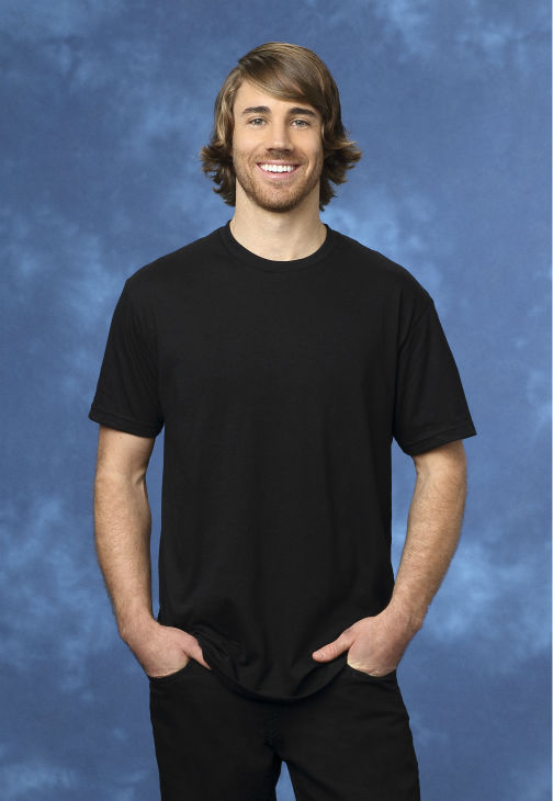 "<div class=""meta ""><span class=""caption-text "">Steven, 30, a snowboard product developer from Encinitas, California, is seen in a publicity photo for 'The Bachelorette' season 10. (ABC Photo / Craig Sjodin)</span></div>"