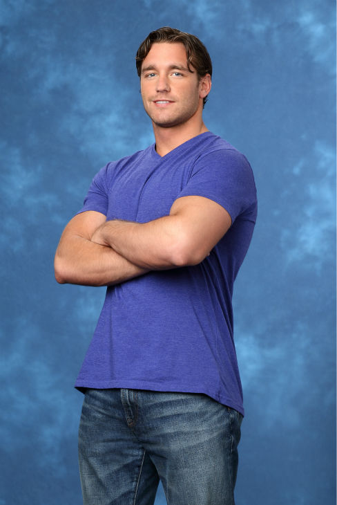 "<div class=""meta ""><span class=""caption-text "">Dylan, 26, an accountant from Boston, Massachusetts, is seen in a publicity photo for 'The Bachelorette' season 10. (ABC Photo / Craig Sjodin)</span></div>"
