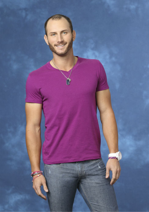 "<div class=""meta ""><span class=""caption-text "">Nick S., 27, a professional golfer from Kissimmee, Florida, is seen in a publicity photo for 'The Bachelorette' season 10. (ABC Photo / Craig Sjodin)</span></div>"
