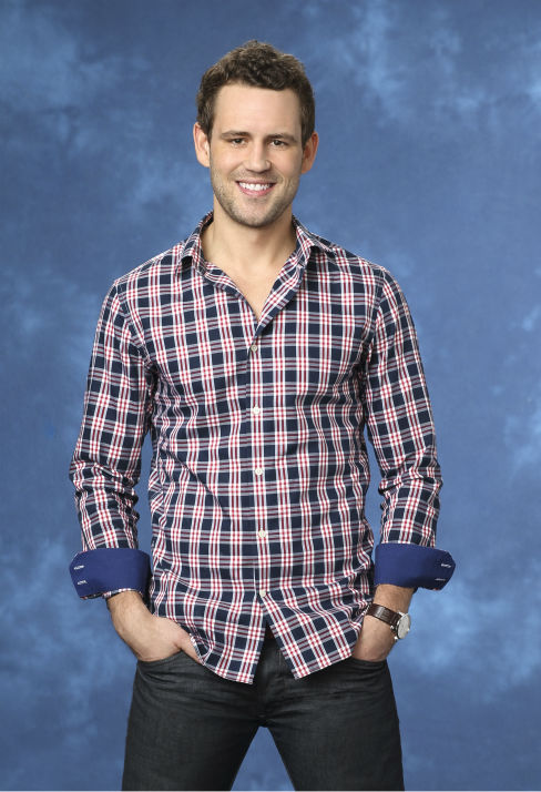 "<div class=""meta ""><span class=""caption-text "">Nick V., 33, a software sales executive from Chicago, Illinois, is seen in a publicity photo for 'The Bachelorette' season 10. (ABC Photo / Craig Sjodin)</span></div>"