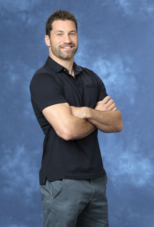 "<div class=""meta ""><span class=""caption-text "">Emil, 33, a helicopter pilot from Costa Mesa, California, is seen in a publicity photo for 'The Bachelorette' season 10. (ABC Photo / Craig Sjodin)</span></div>"
