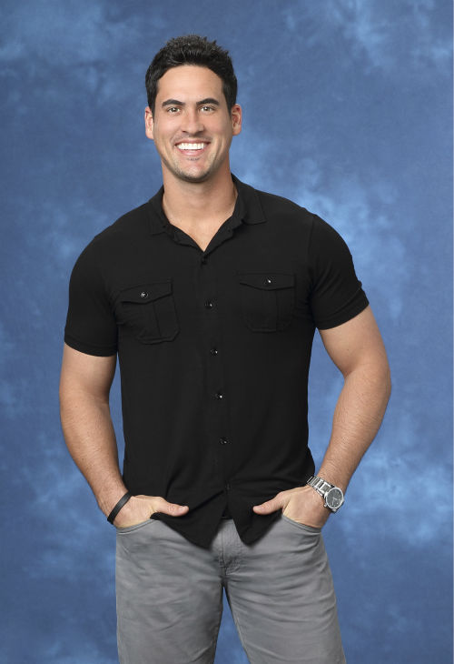 "<div class=""meta image-caption""><div class=""origin-logo origin-image ""><span></span></div><span class=""caption-text"">Josh M., 29, a former professional baseball player from Atlanta, Georgia, is seen in a publicity photo for 'The Bachelorette' season 10. (ABC Photo / Craig Sjodin)</span></div>"
