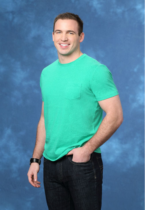 "<div class=""meta image-caption""><div class=""origin-logo origin-image ""><span></span></div><span class=""caption-text"">Brian, 27, a basketball coach from Camp Hill, Pennsylvania, is seen in a publicity photo for 'The Bachelorette' season 10. (ABC Photo / Craig Sjodin)</span></div>"