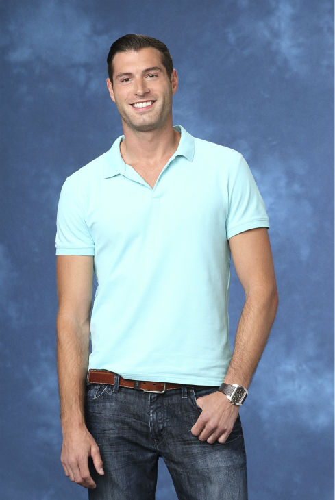 "<div class=""meta ""><span class=""caption-text "">Patrick, 29, an advertising executive from Newport Beach, California, is seen in a publicity photo for 'The Bachelorette' season 10. (ABC Photo / Craig Sjodin)</span></div>"
