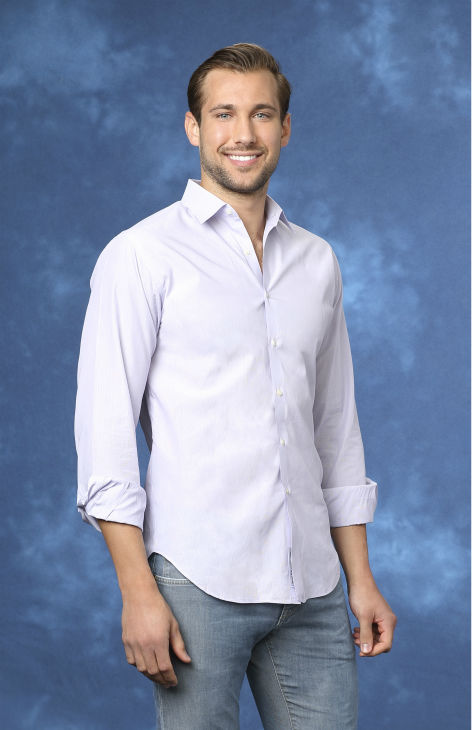 "<div class=""meta ""><span class=""caption-text "">Marcus, 25, a sports medicine manager from Dallas, Texas, is seen in a publicity photo for 'The Bachelorette' season 10. (ABC Photo / Craig Sjodin)</span></div>"