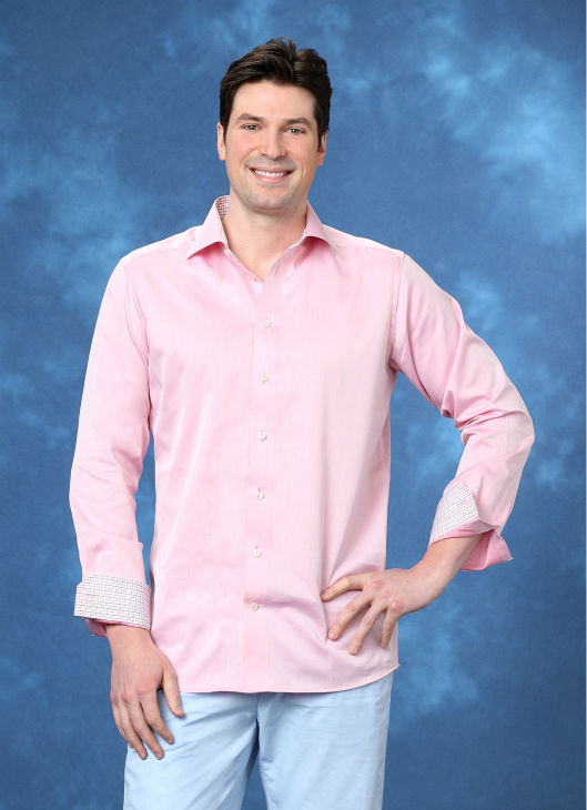"<div class=""meta ""><span class=""caption-text "">Bradley, 32, an opera singer from Holland, Michigan, is seen in a publicity photo for 'The Bachelorette' season 10. (ABC Photo / Craig Sjodin)</span></div>"