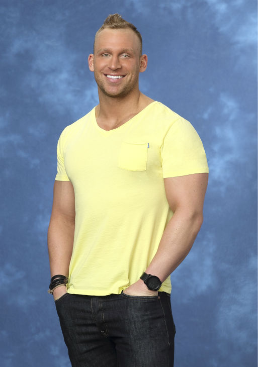 "<div class=""meta ""><span class=""caption-text "">Cody, 28, a personal trainer from Chicago, Illinois, is seen in a publicity photo for 'The Bachelorette' season 10. (ABC Photo / Craig Sjodin)</span></div>"