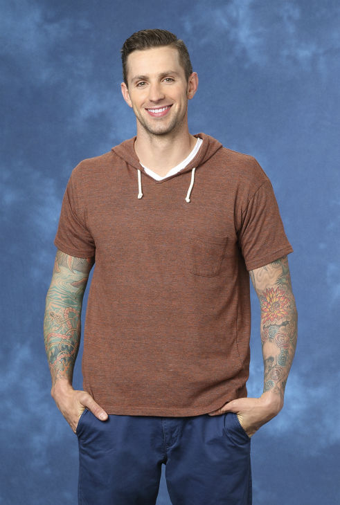 "<div class=""meta ""><span class=""caption-text "">Carl, 30, a firefighter from Fort Lauderdale, Florida, is seen in a publicity photo for 'The Bachelorette' season 10. (ABC Photo / Craig Sjodin)</span></div>"
