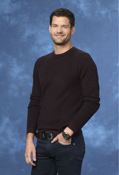 "<div class=""meta ""><span class=""caption-text "">Andrew, 30, a social media marketer from Culver City, California, is seen in a publicity photo for 'The Bachelorette' season 10. (ABC Photo / Craig Sjodin)</span></div>"