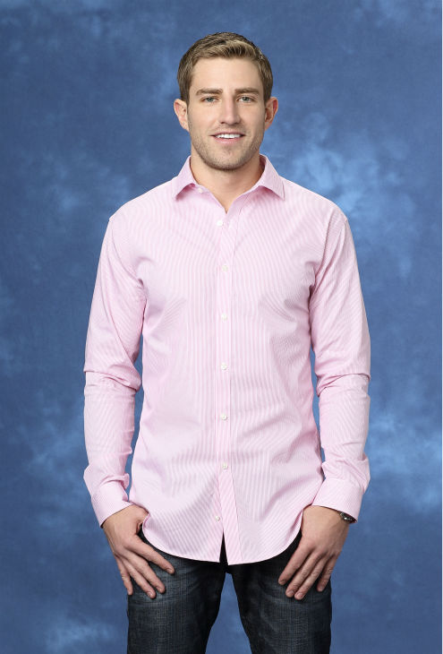 "<div class=""meta ""><span class=""caption-text "">Josh B., 29, a telecommunication marketer from Denver, Colorado, is seen in a publicity photo for 'The Bachelorette' season 10. (ABC Photo / Craig Sjodin)</span></div>"