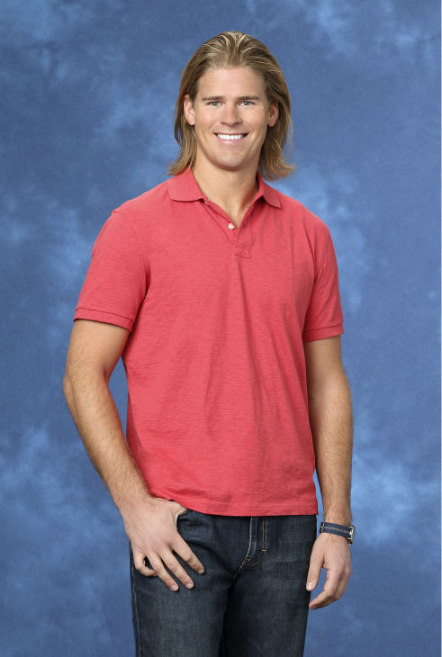 "<div class=""meta ""><span class=""caption-text "">Mike, 29, a bartender from Alta, Utah, is seen in a publicity photo for 'The Bachelorette' season 10. (ABC Photo / Craig Sjodin)</span></div>"