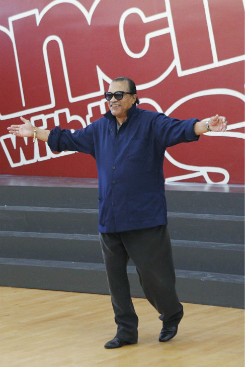&#39;Dancing With The Stars&#39; celebrity contestant Billy Dee Williams appears at a reheasal before the season 18 premiere of the ABC show on March 17, 2014.  Wlliams was touted as the &#39;black Clark Gable&#39; in the 1970s. He played Lando Calrissian in &#39;Star Wars&#39; films &#39;The Empire Strikes Back&#39; and &#39;The Return of the Jedi&#39; and also played Harvey Dent in the Tim Burton&#39;s 1989 movie &#39;Batman.&#39; <span class=meta>(ABC Photo &#47; Rick Rowell)</span>