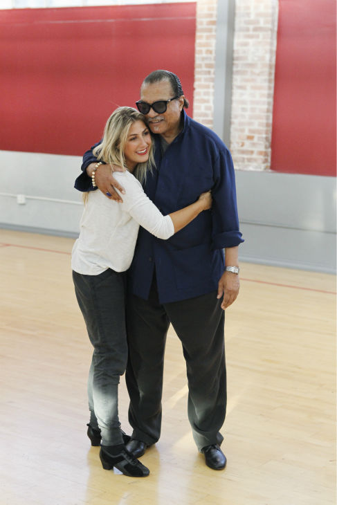 &#39;Dancing With The Stars&#39; celebrity contestant Billy Dee Williams appears with partner Emma Slater at a reheasal before the season 18 premiere of the ABC show on March 17, 2014. Wlliams was touted as the &#39;black Clark Gable&#39; in the 1970s. He played Lando Calrissian in &#39;Star Wars&#39; films &#39;The Empire Strikes Back&#39; and &#39;The Return of the Jedi&#39; and also played Harvey Dent in the Tim Burton&#39;s 1989 movie &#39;Batman.&#39; <span class=meta>(ABC Photo &#47; Rick Rowell)</span>