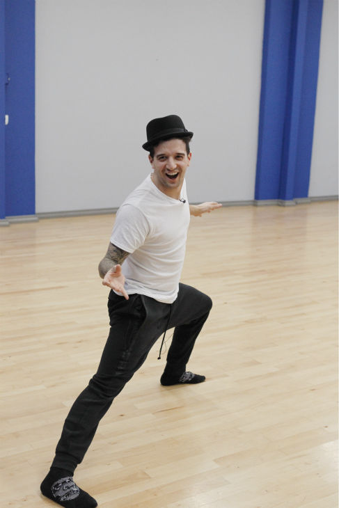 &#39;Dancing With The Stars&#39; pro dancer Mark Ballas appears at a reheasal before the season 18 premiere of the ABC show on March 17, 2014. His partner is &#39;Full House&#39; alum Candace Cameron Bure &#40;she played DJ Tanner&#41;. <span class=meta>(ABC Photo &#47; Rick Rowell)</span>