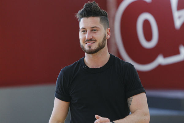 &#39;Dancing With The Stars&#39; pro dancer Val Chmerkovskiy appears at a reheasal before the season 18 premiere of the ABC show on March 17, 2014. His partner is Danica McKellar of &#39;The Wonder Years&#39; &#40;she played Winnie Cooper&#41;. <span class=meta>(ABC Photo &#47; Rick Rowell)</span>