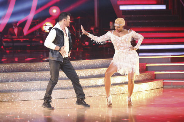 "<div class=""meta ""><span class=""caption-text "">NeNe Leakes and partner Tony Dovolani dance the Cha Cha Cha on week 1 of ABC's 'Dancing With The Stars' on March 17, 2014. They received 21 out of 30 points from the judges. (ABC Photo / Adam Taylor)</span></div>"