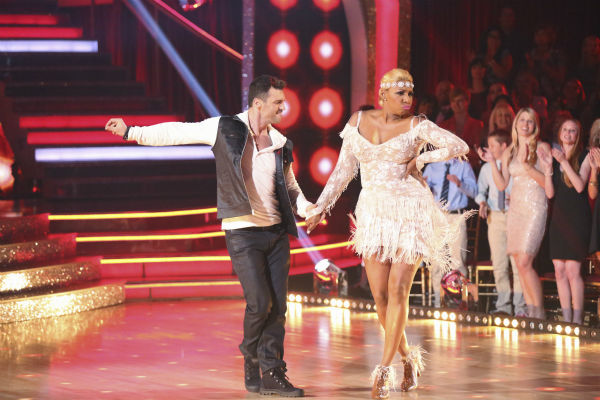 "<div class=""meta image-caption""><div class=""origin-logo origin-image ""><span></span></div><span class=""caption-text"">NeNe Leakes and partner Tony Dovolani dance the Cha Cha Cha on week 1 of ABC's 'Dancing With The Stars' on March 17, 2014. They received 21 out of 30 points from the judges. (ABC Photo / Adam Taylor)</span></div>"