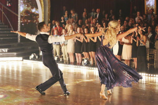 "<div class=""meta ""><span class=""caption-text "">James Maslow and Peta Murgatroyd dance the Foxtrot on week 1 of ABC's 'Dancing With The Stars' on March 17, 2014. They received 21 out of 30 points from the judges. (ABC Photo / Adam Taylor)</span></div>"